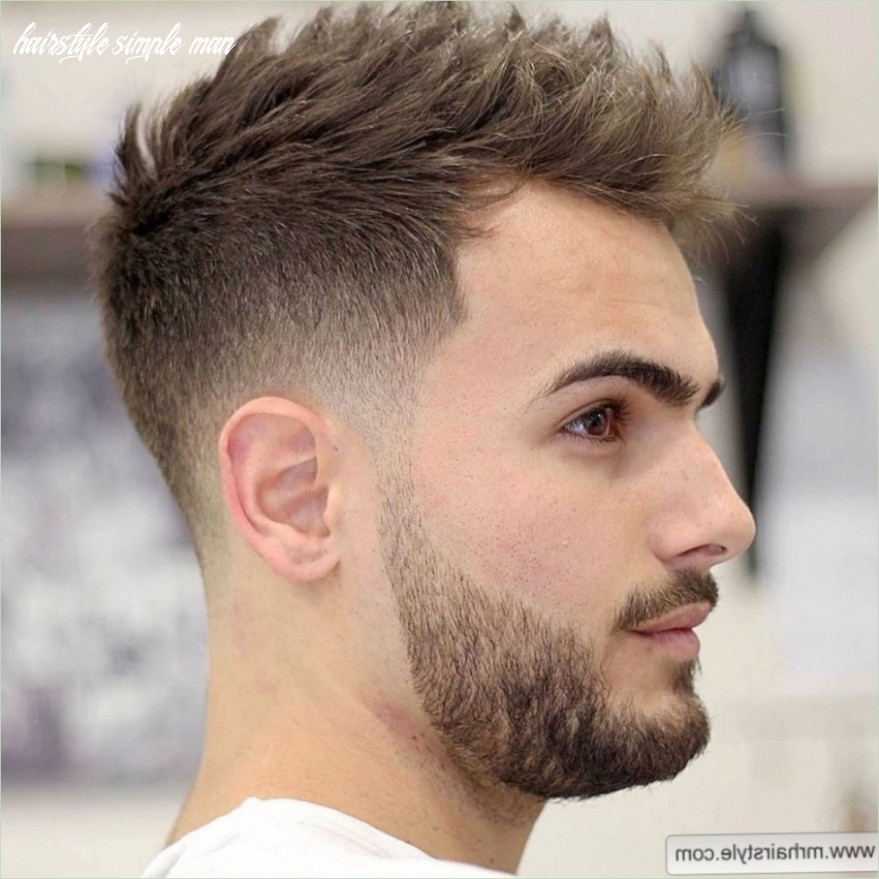 New simple hairstyle for man simple hair style for men the newest