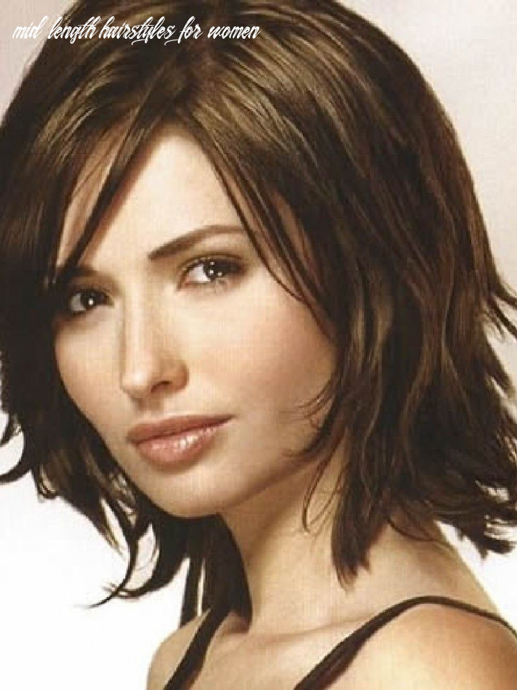 Pin on hair mid length hairstyles for women