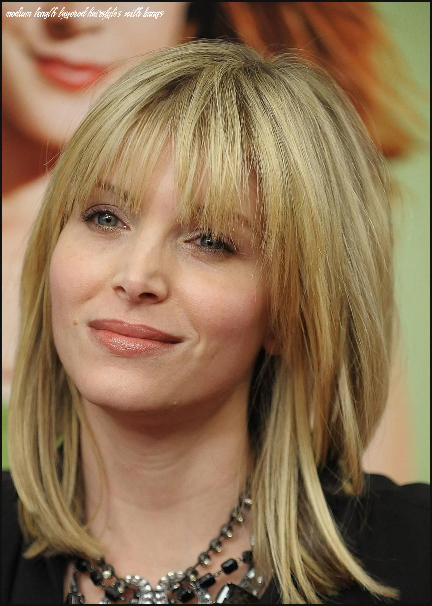 Pin on hot hairstyles medium length layered hairstyles with bangs