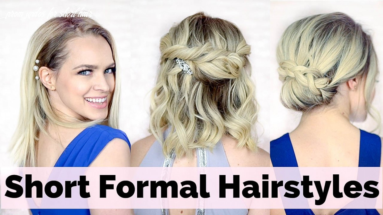 Prom hairstyles for short hair prom updos for short hair