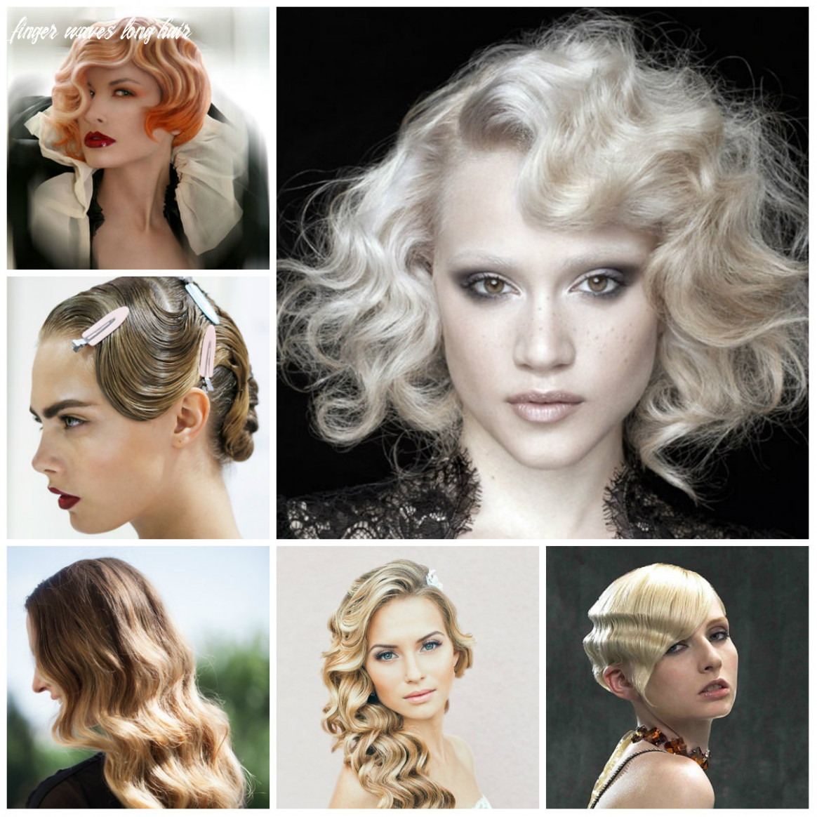 Retro finger wave hairstyles 8   8 haircuts, hairstyles and