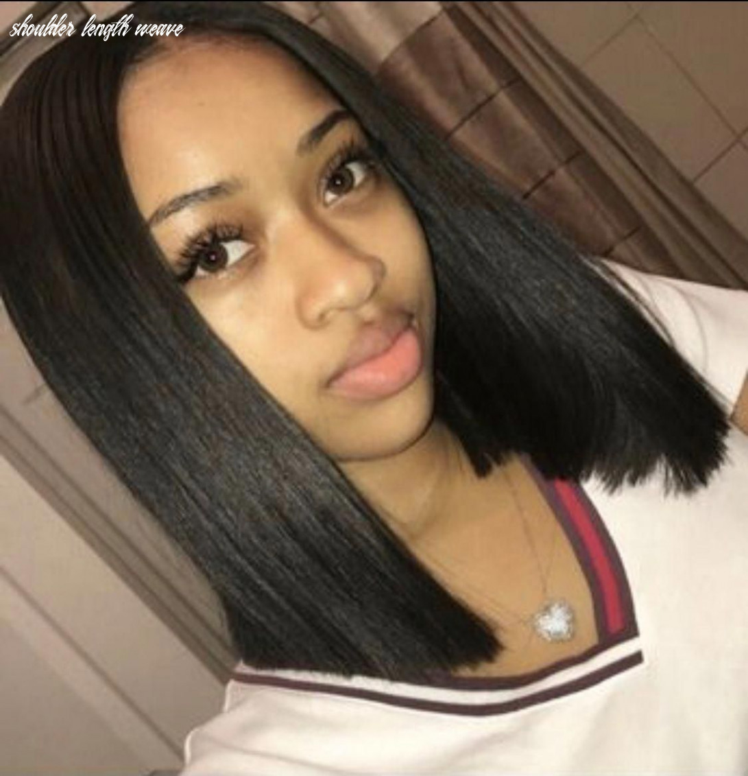 Sew in weave hairstyles for black women short shoulder length