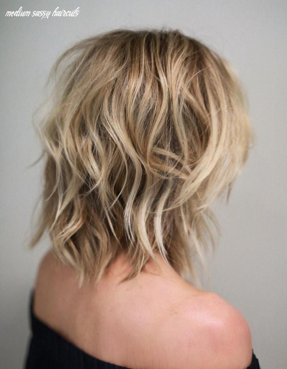 Shag haircuts and hairstyles in 10 — therighthairstyles medium sassy haircuts