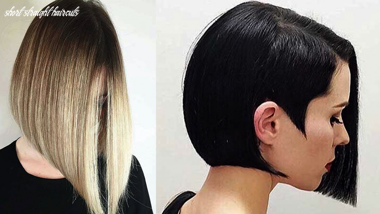 Short straight hairstyles   styles for straight hair ♛ straight hair bob hairstyles ♛ short straight haircuts