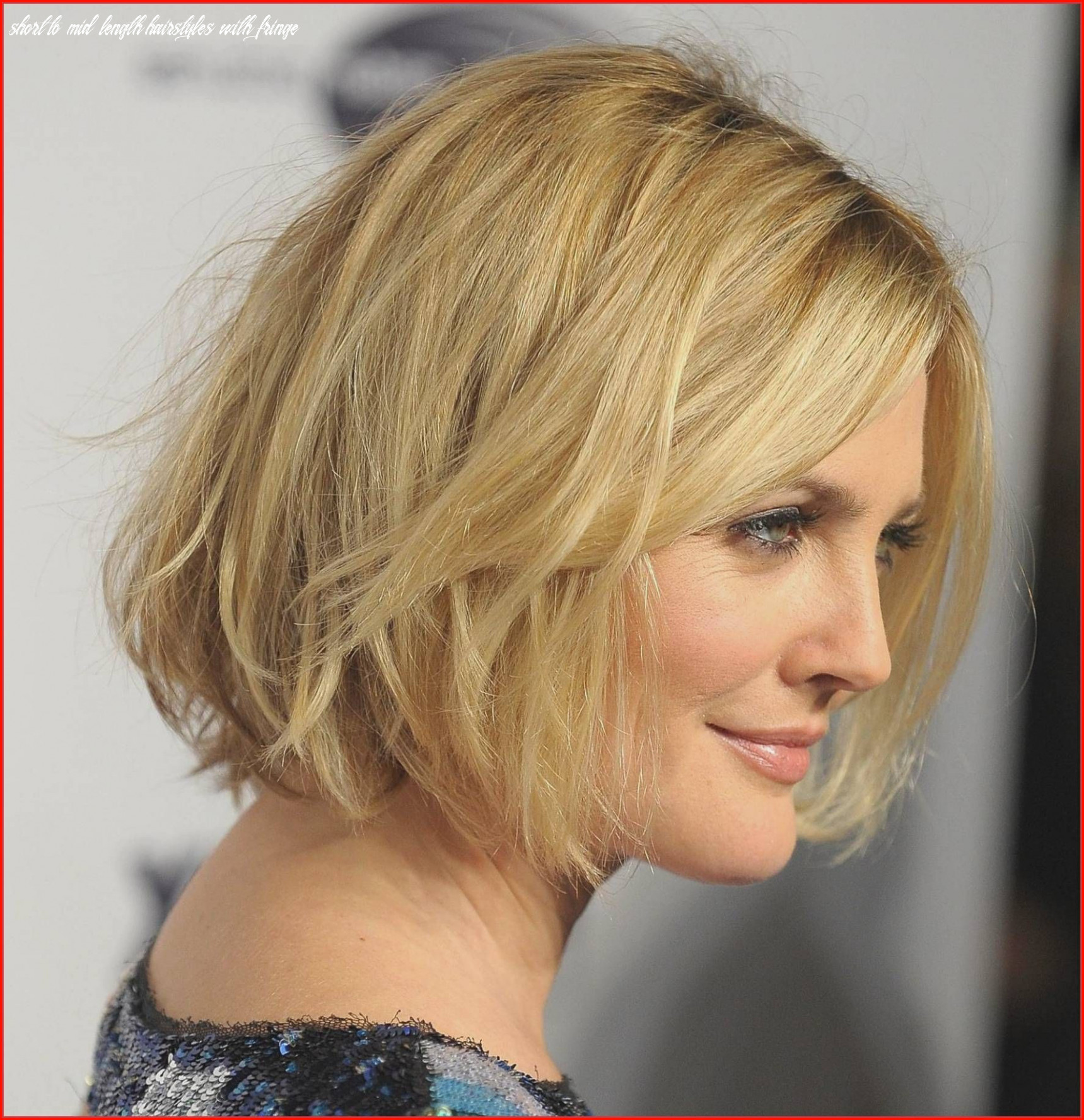 Unique short and medium length hairstyles collection of medium