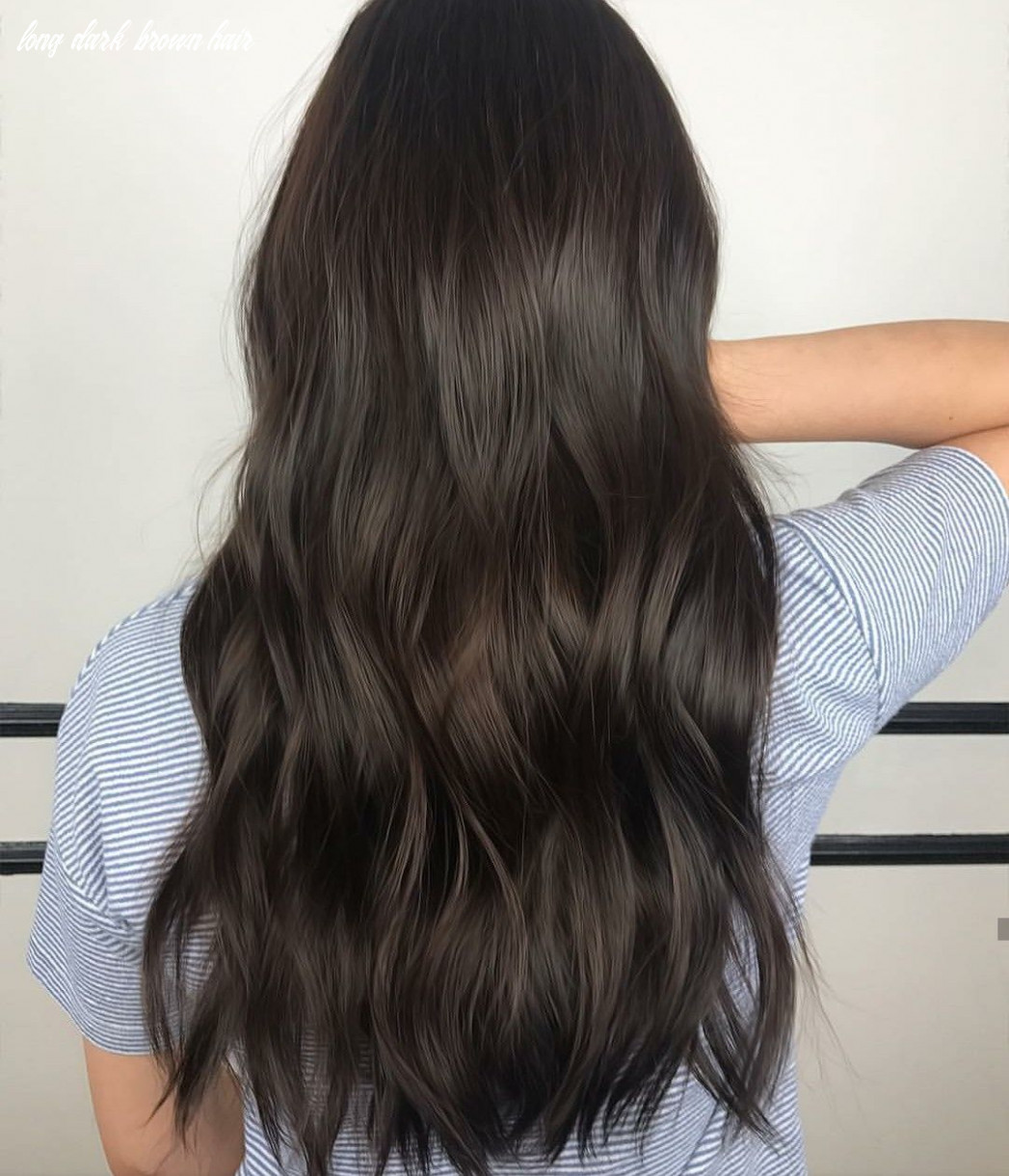 Warm brown black #avedamadison (with images) | hair color for
