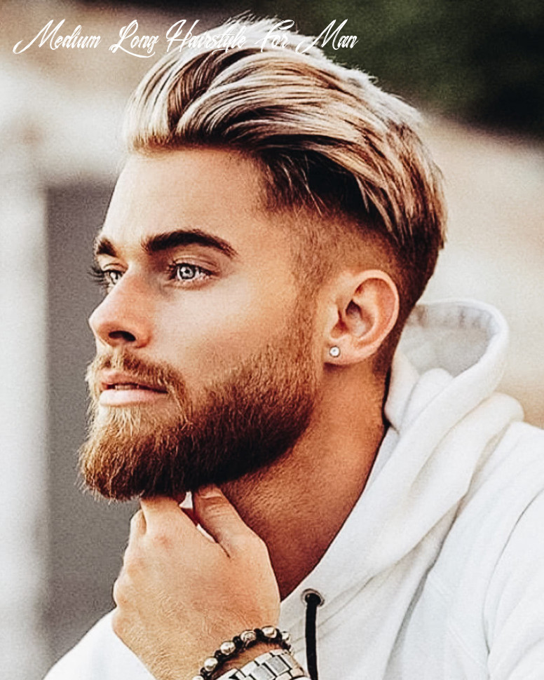 10 best medium length haircuts for men and how to style them medium long hairstyle for man