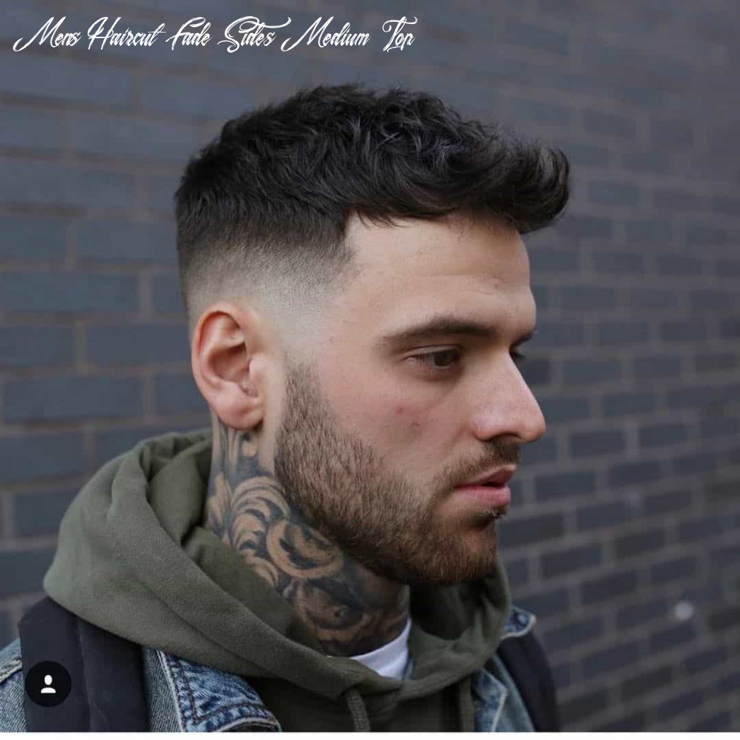 10 best mid fade haircuts in 10 mens haircut fade sides medium top