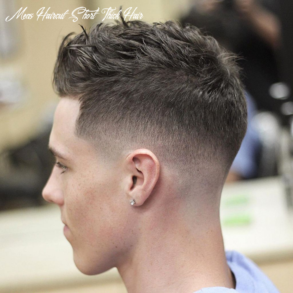 10 best of short hairstyles for thick hair | mens haircuts short