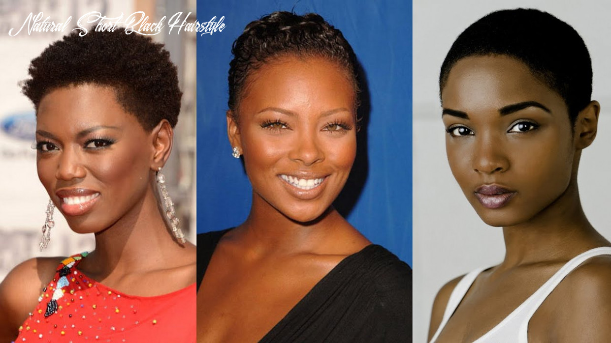 10 best short natural hairstyles for black women natural short black hairstyle