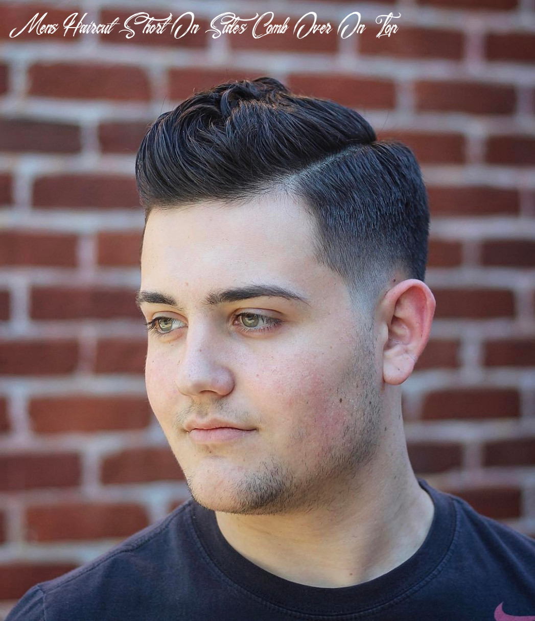 10 comb over haircuts > cool new styles for 10 mens haircut short on sides comb over on top