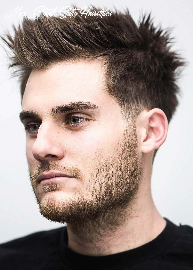 10 exquisite spiky hairstyles: leading ideas for 1019 mens short spiky hairstyles
