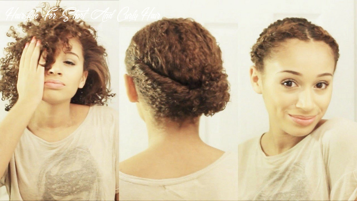 10 hairstyles for short curly hair hairstyle for short and curly hair