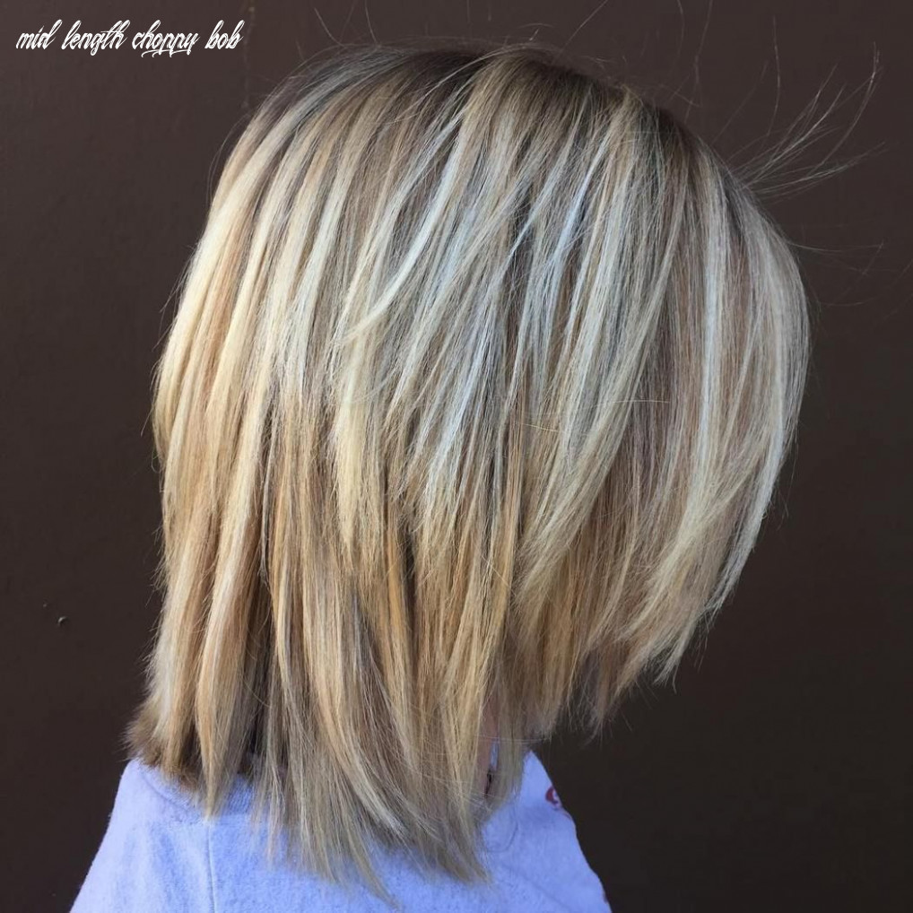 10 long choppy bob hairstyles for brunettes and blondes   bob