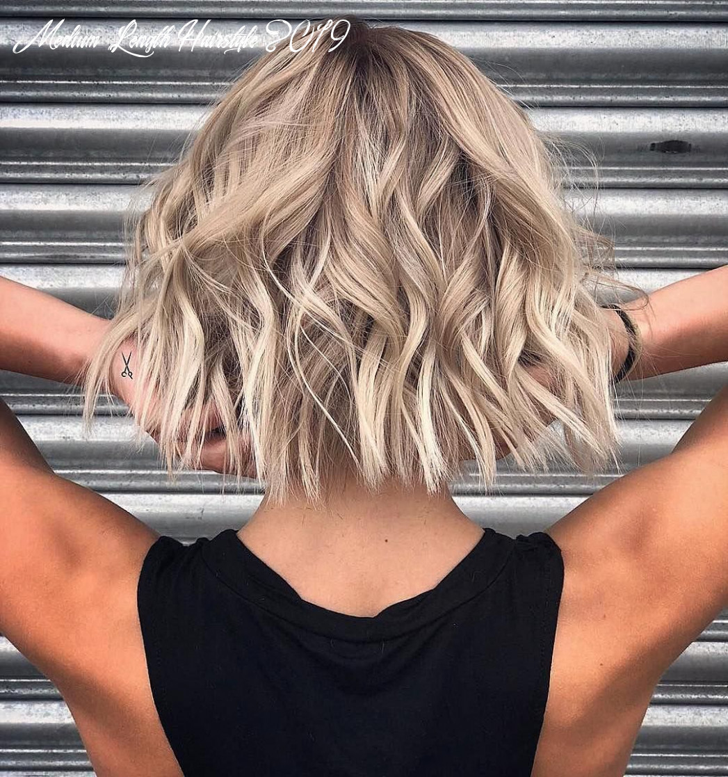 10 stylish lob hairstyle ideas, best shoulder length hair for