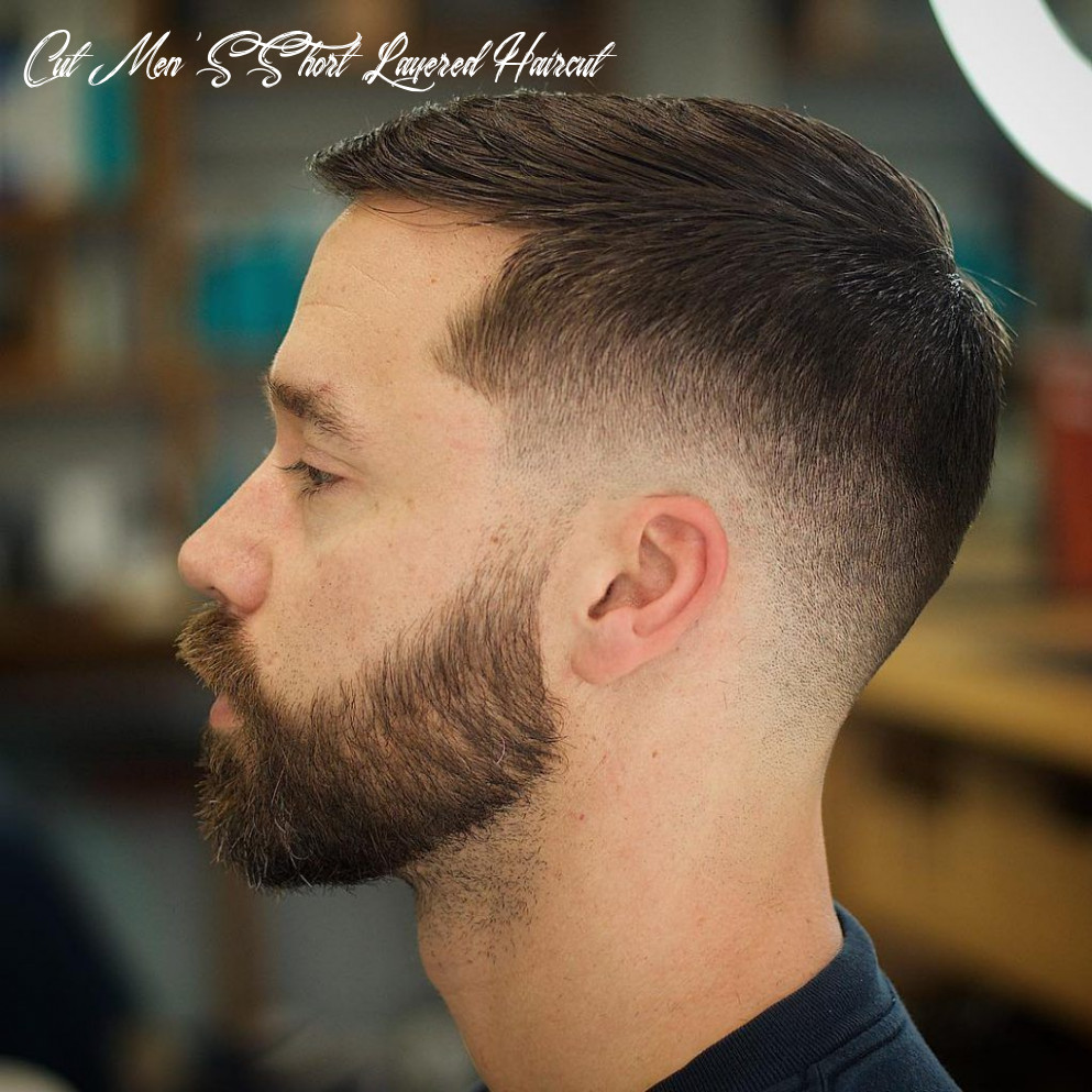 10 trendiest layered haircuts for men | mens hairstyles short