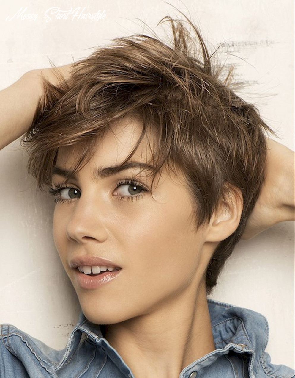 11 awesome messy hairstyles for short hair   messy short hair