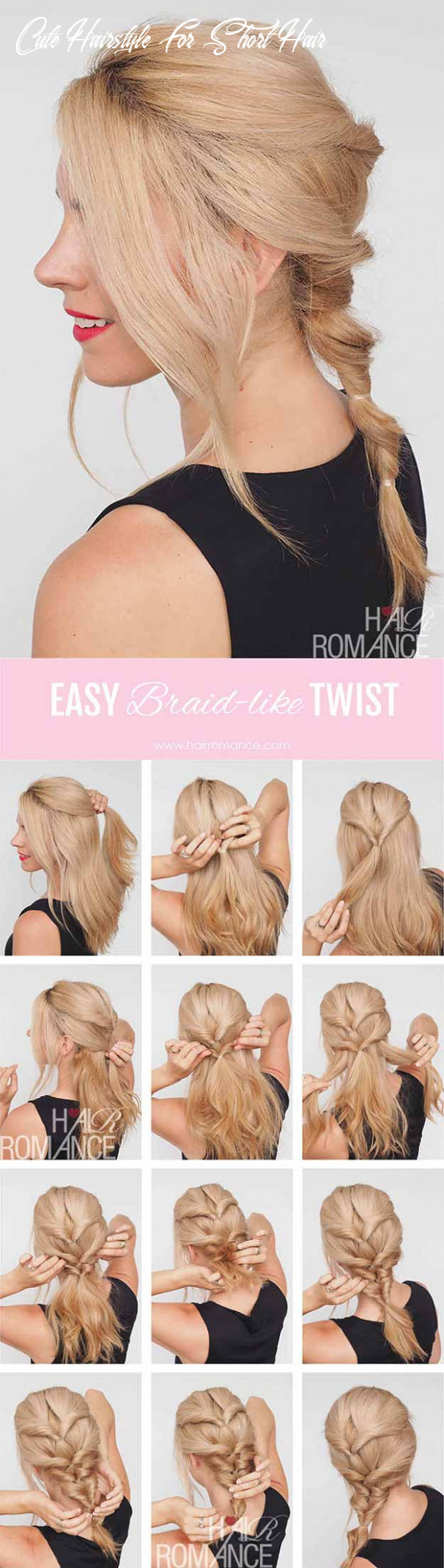11 best hairstyles for teens the goddess cute hairstyle for short hair
