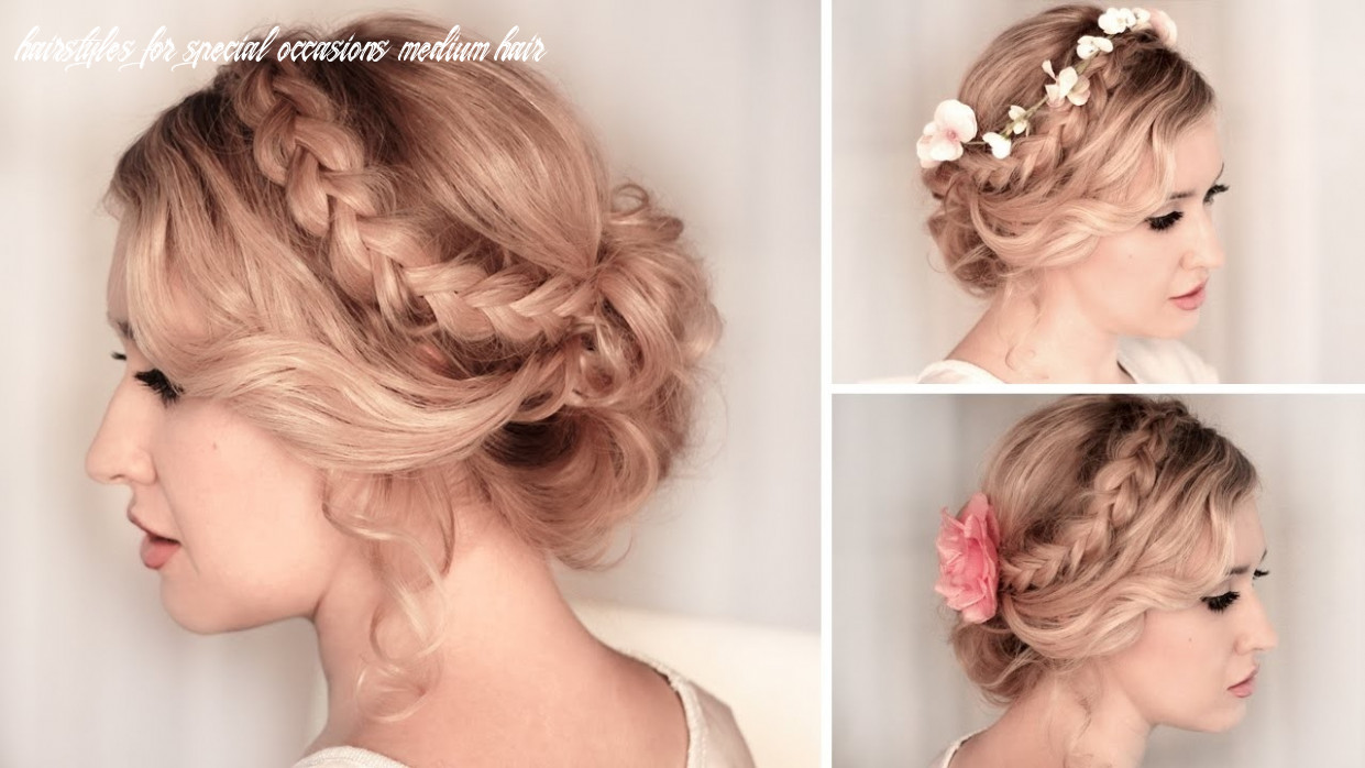 11 easy hairstyles for a special occasion hairstyles for special occasions medium hair