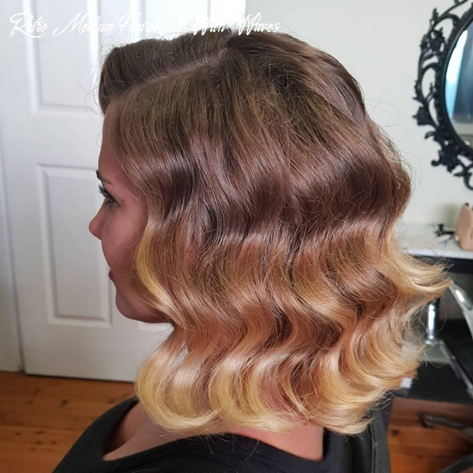 11 easy retro & vintage hairstyles to try this year retro medium hairstyles with waves