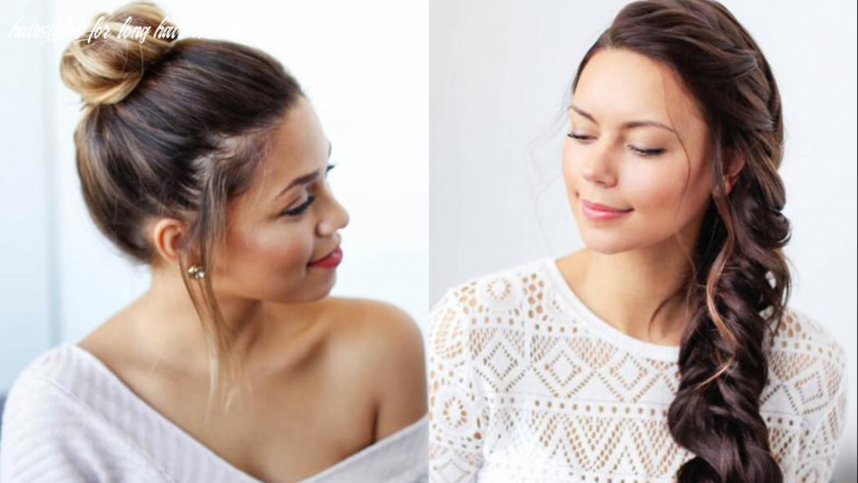 11 easy summer hairstyles hairstyles for long hair women