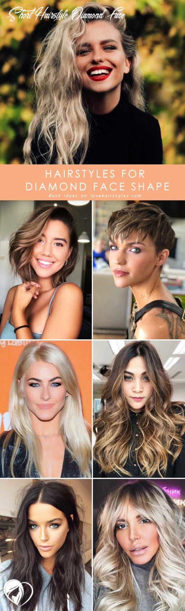 11 flattering haircuts and hairstyles for diamond face shape short hairstyle diamond face