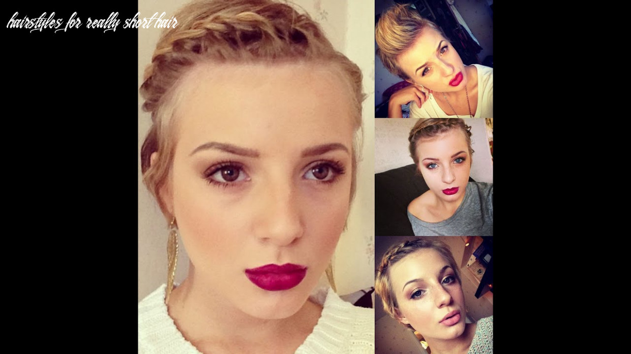 11 hairstyles for really short hair! hairstyles for really short hair