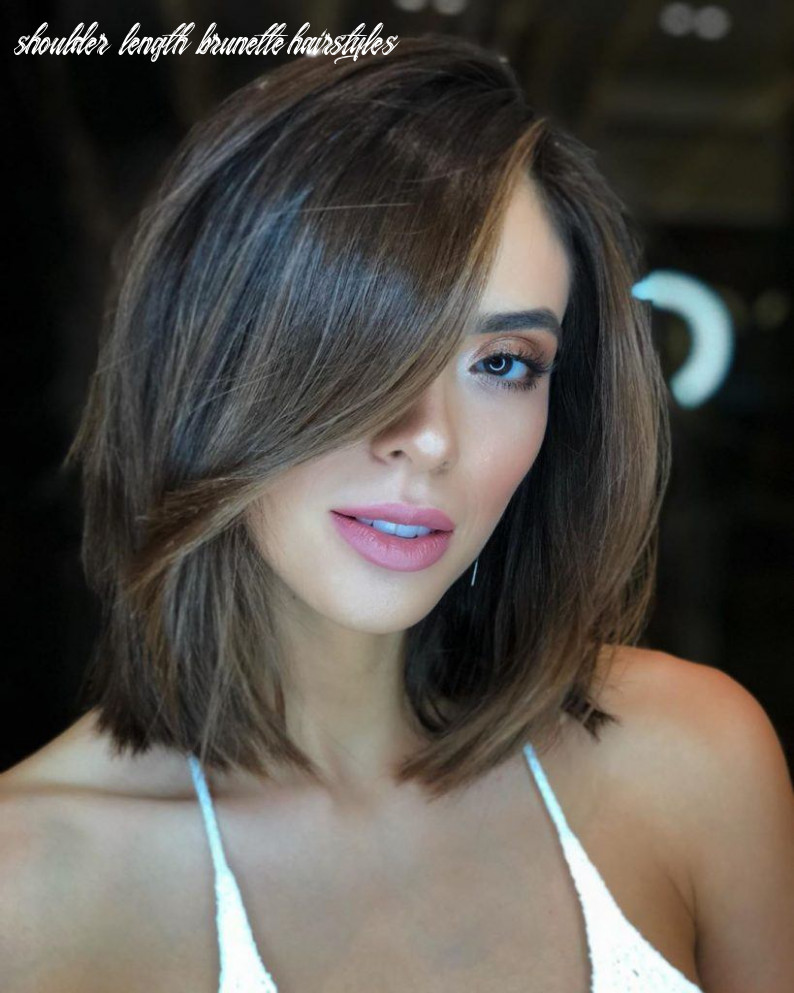 11 layered bob hairstyles to inspire your next haircut in 11 shoulder length brunette hairstyles