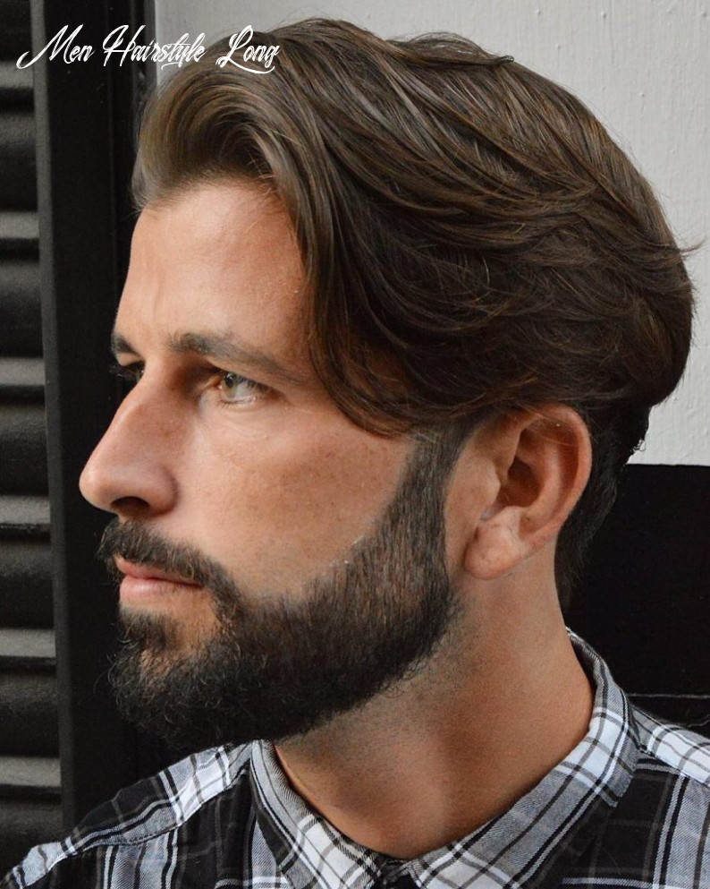 11 long hair haircuts hairstyles for men: best of > july 11 men hairstyle long
