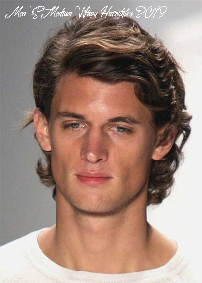 11 medium wavy hairstyle idea for men in 11 11 | haircuts for