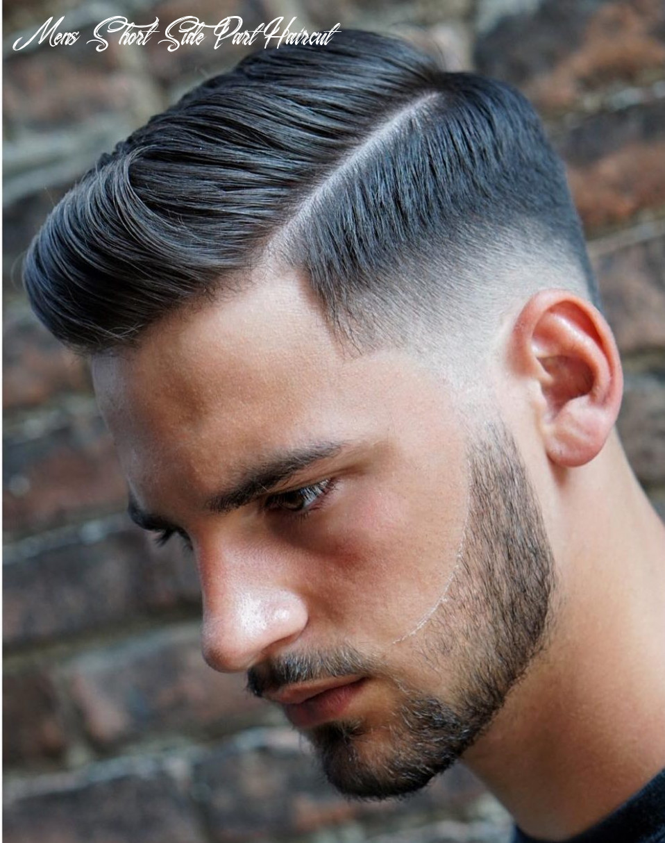 11 side part haircuts: 11 styles that are cool modern mens short side part haircut