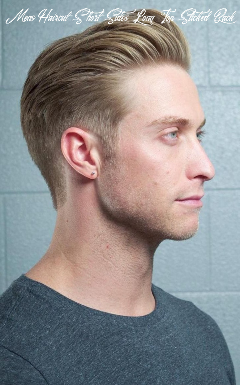 11 slicked back hair styles for 11 to try out mens haircut short sides long top slicked back