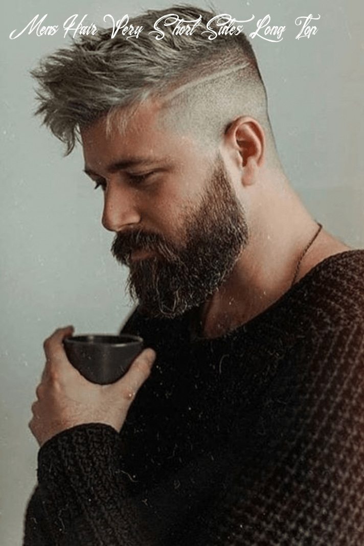 11 trendy short sides long top hairstyles in 11   mens