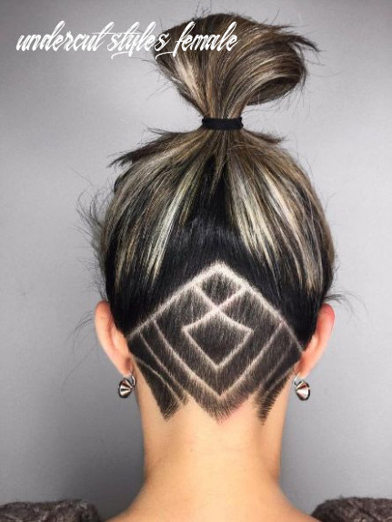 11 undercut hairstyles that are a party in the back | undercut