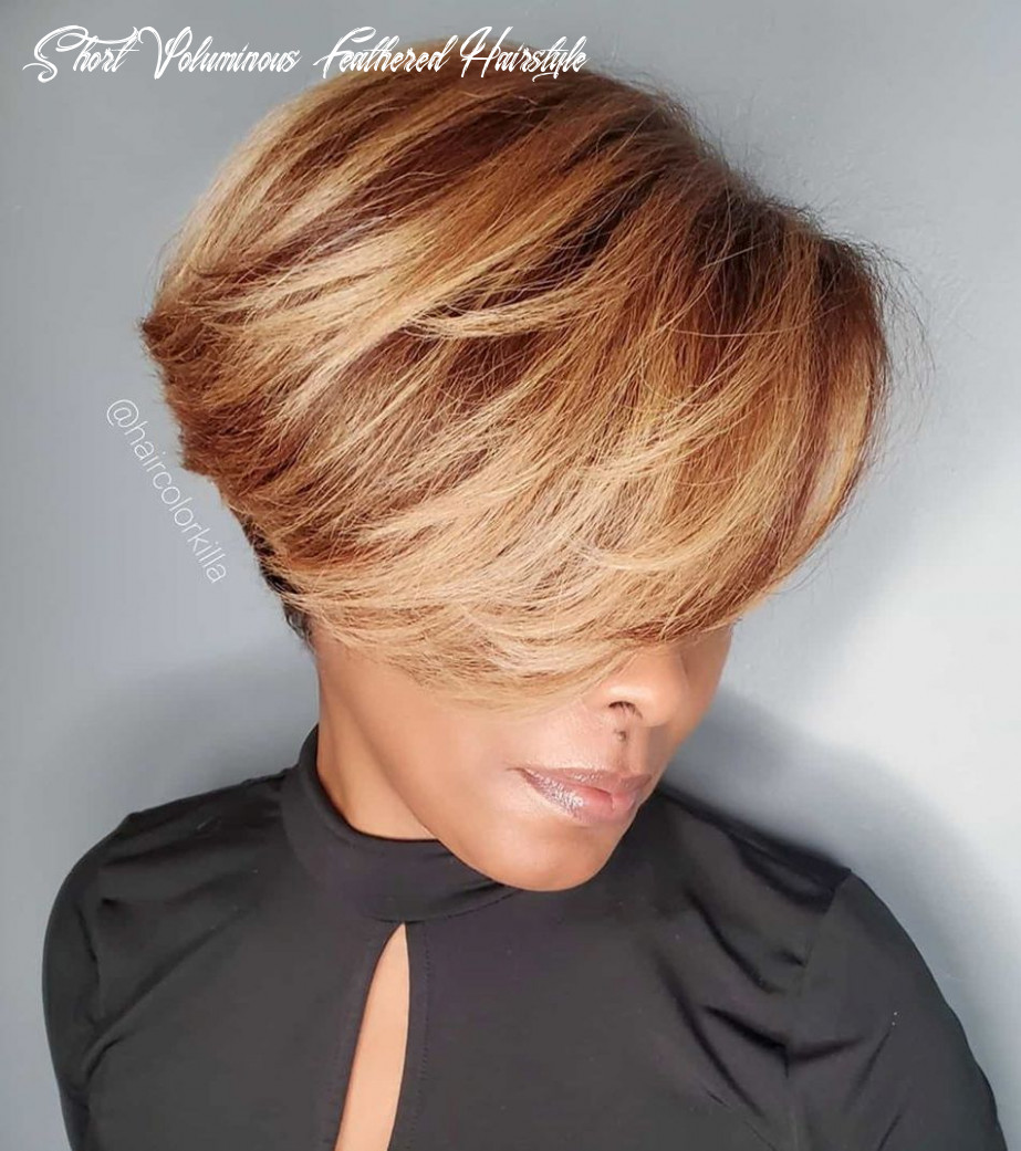 11 upgraded feathered hair cuts that are trendy in 11 hair adviser short voluminous feathered hairstyle