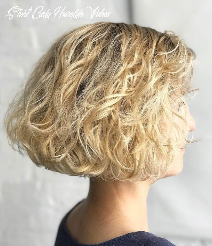 12 beautiful and easy hairstyles for short curly hair short bob cuts short curly hairstyle videos