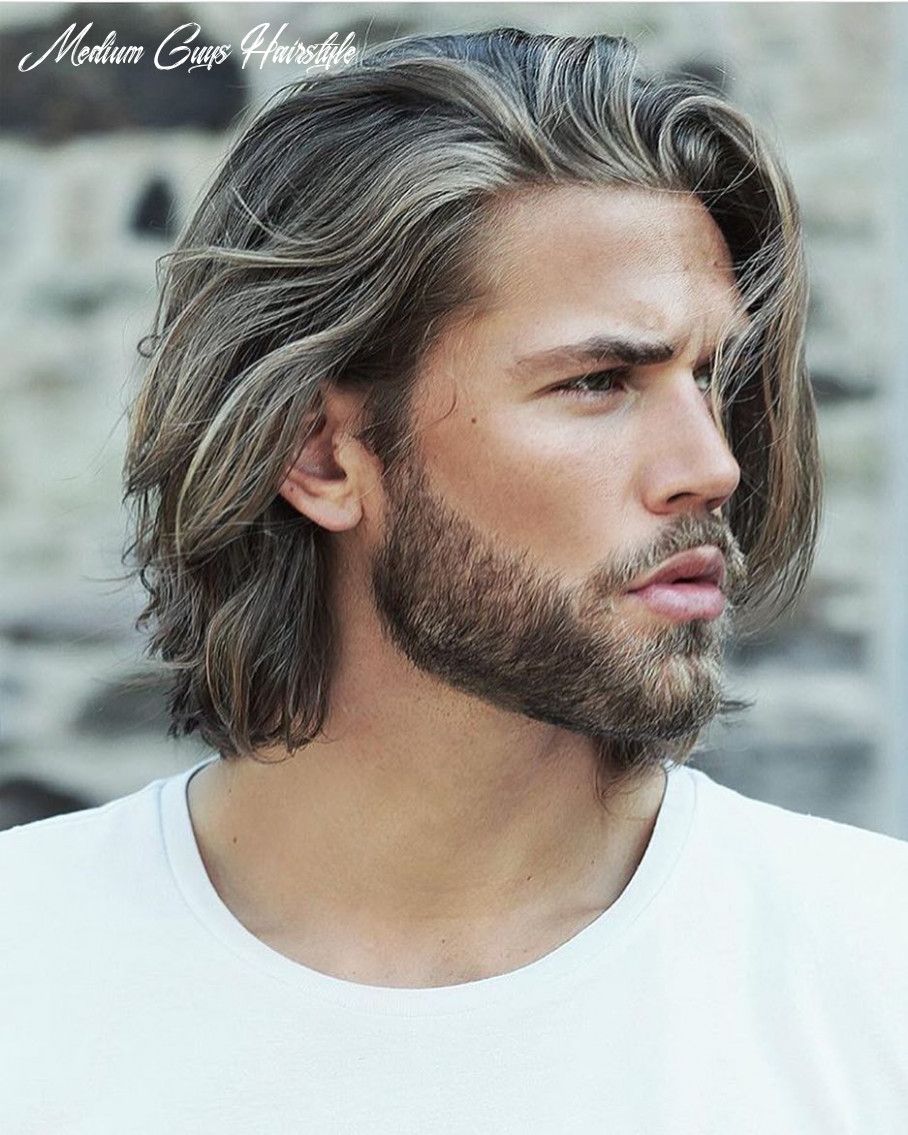 12 best medium length hairstyles and haircuts for men 12