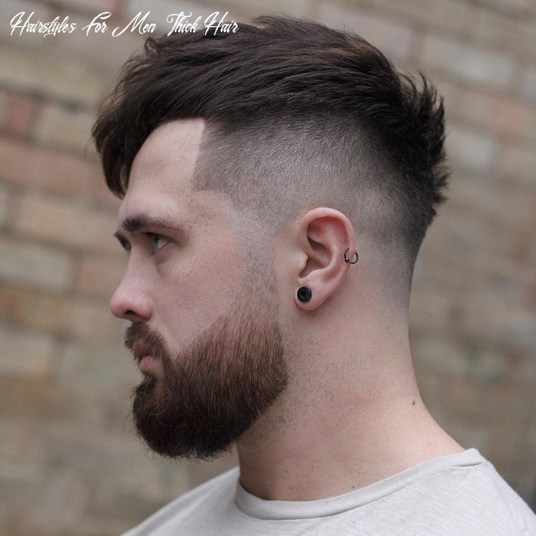 12 cool haircuts for men with thick hair (short medium) hairstyles for men thick hair