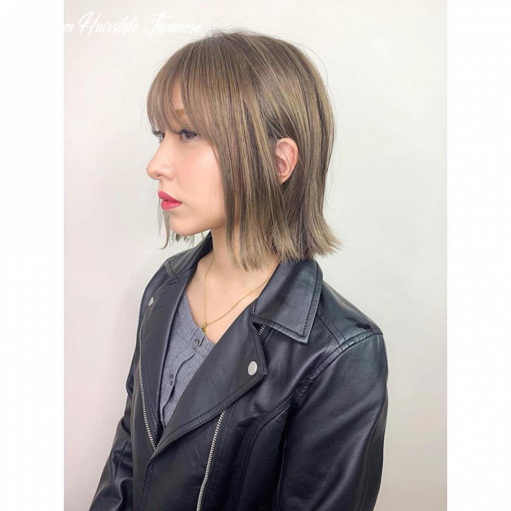 12 japanese hairstyles for women 12   hairstyles for women 12 medium hairstyle japanese