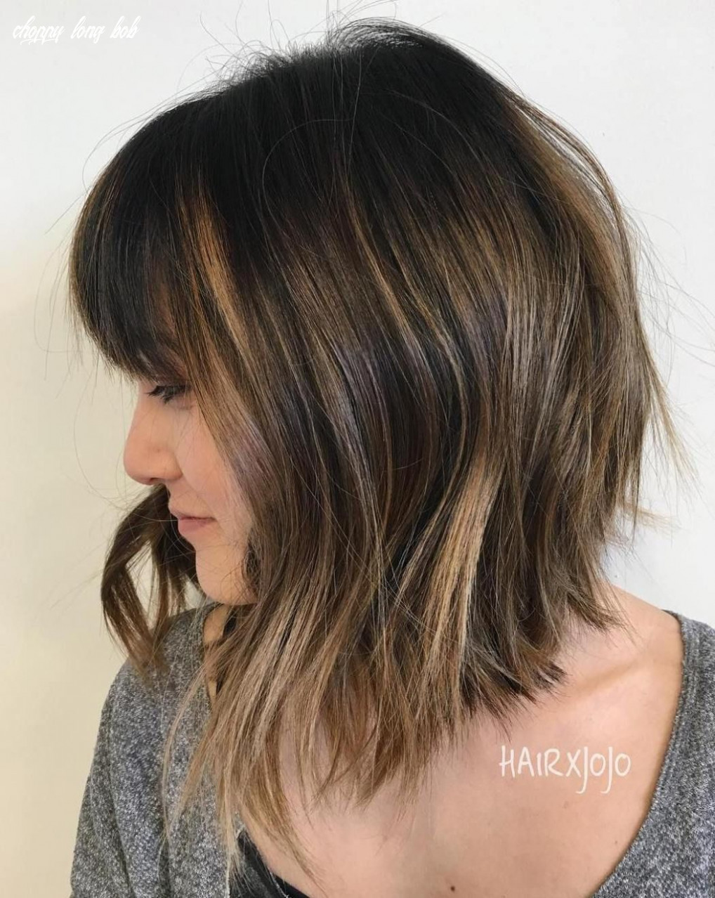12 long choppy bob hairstyles for brunettes and blondes | choppy
