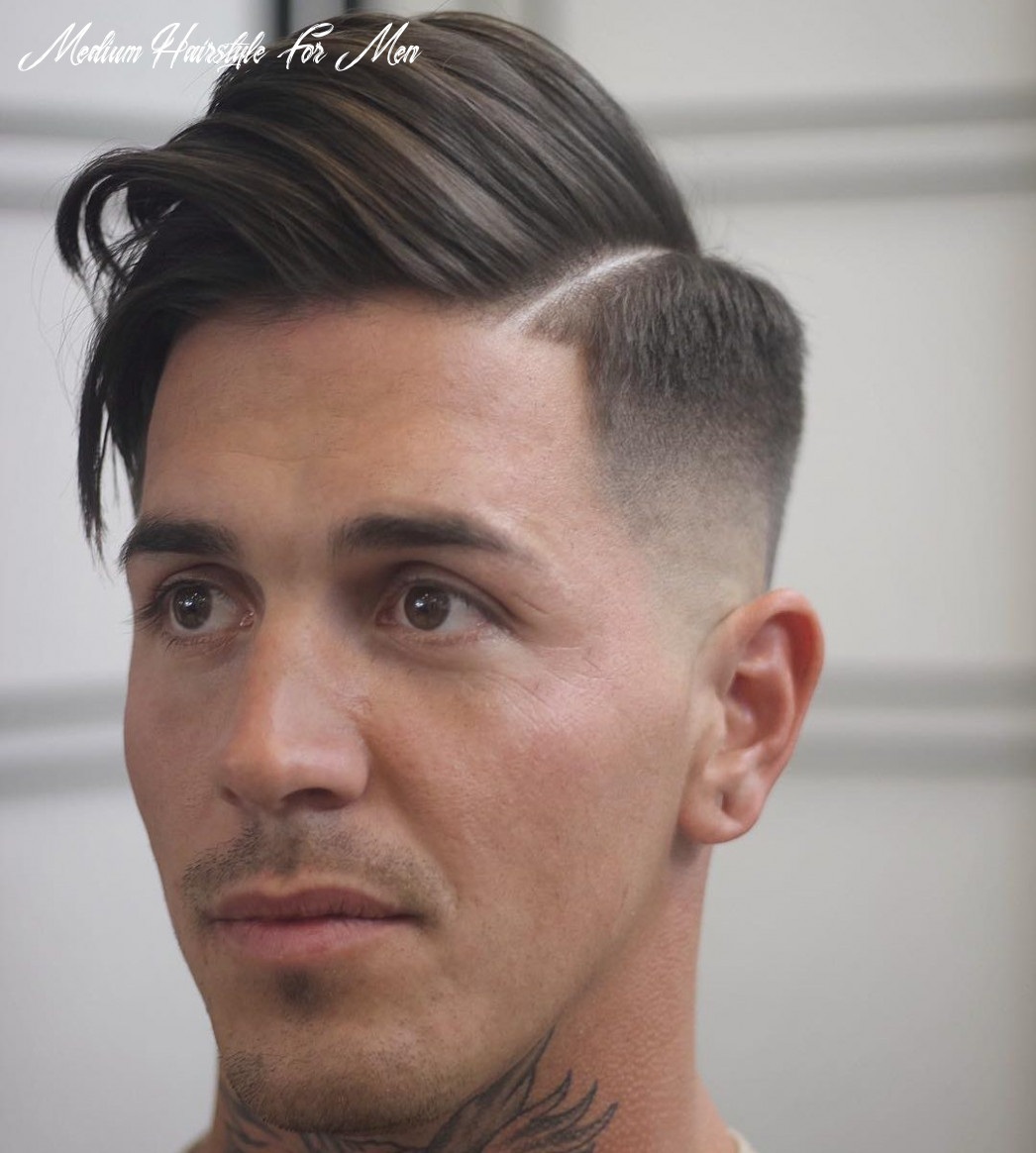 12 medium hairstyles for men (cool 12 styles) medium hairstyle for men