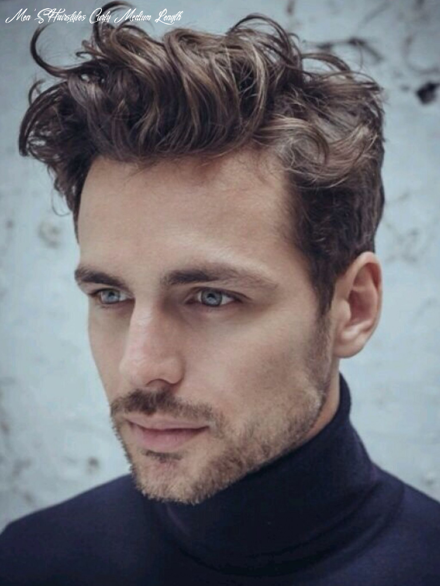 12 professional hairstyles for men with medium length hair