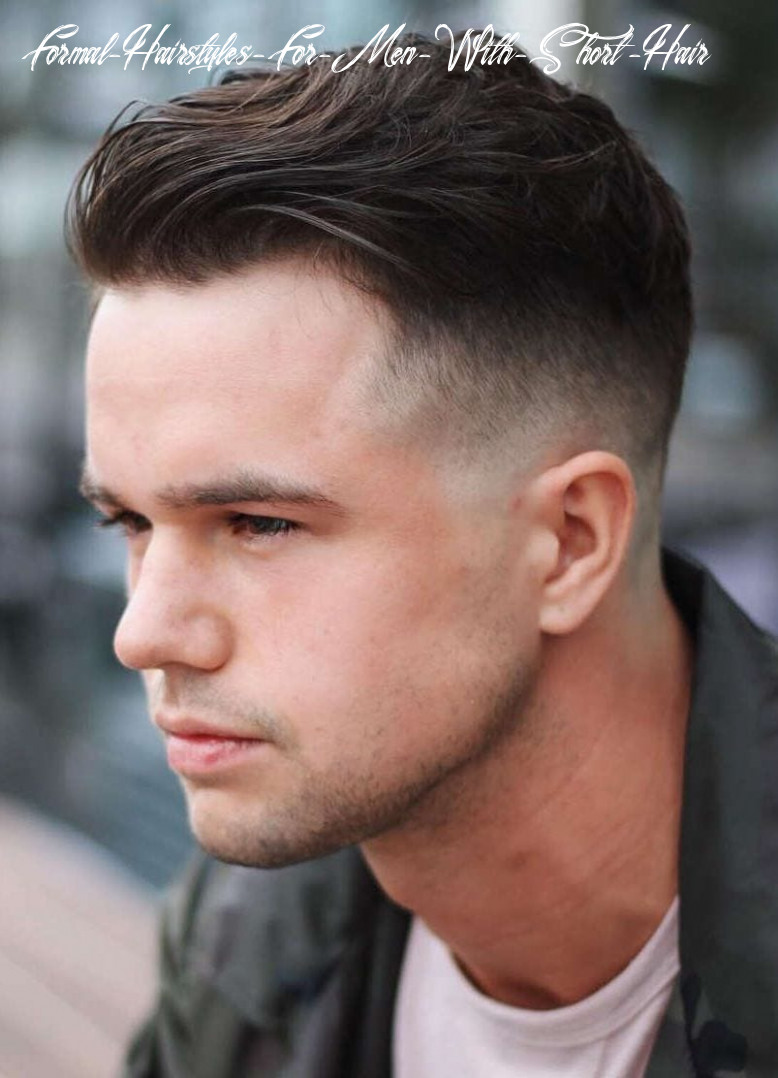 12 selected haircuts for guys with round faces formal hairstyles for men with short hair