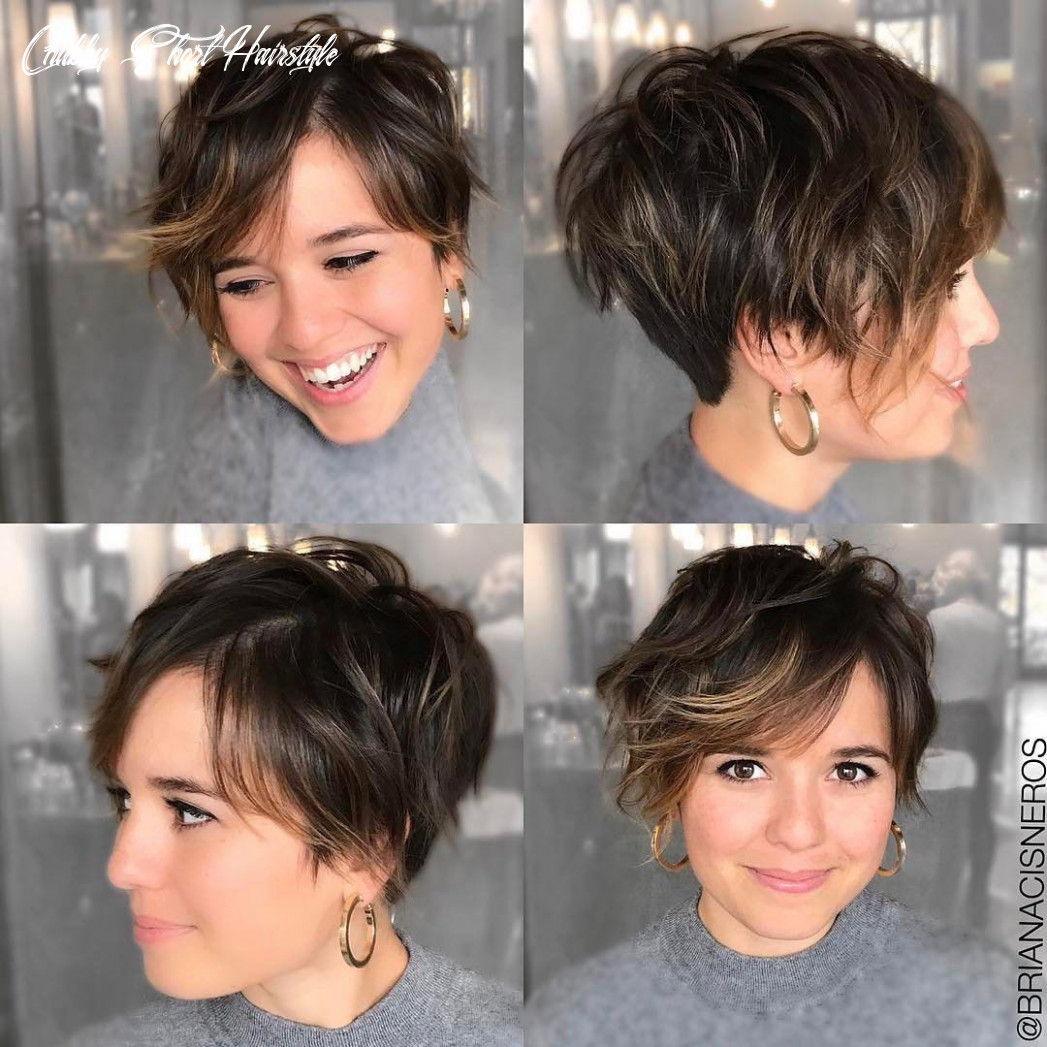 12 short hairstyles for round faces with slimming effect hadviser chubby short hairstyle