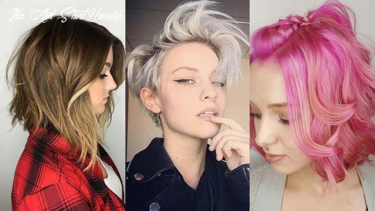 12 short hairstyles for women with thin hair   fashionisers© thin and short hairstyle