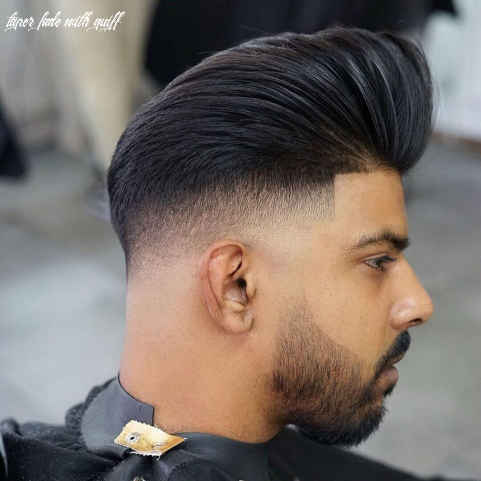 12 short on sides long on top haircuts for men | man haircuts taper fade with quiff