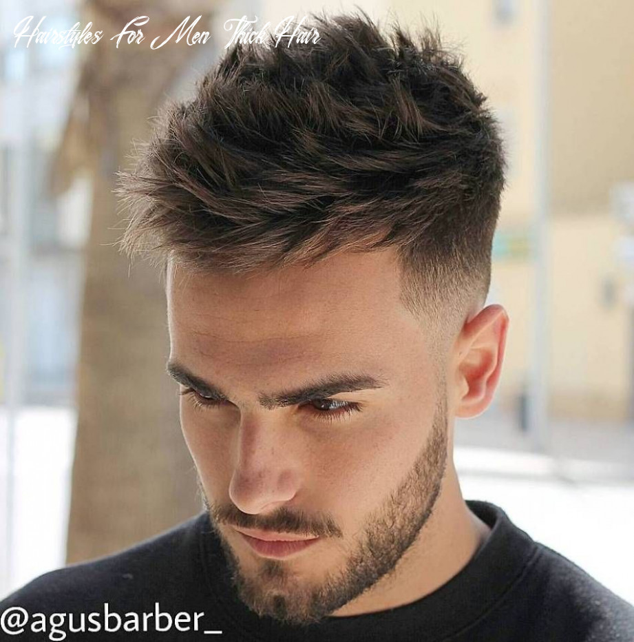 12 statement hairstyles for men with thick hair | mens hairstyles
