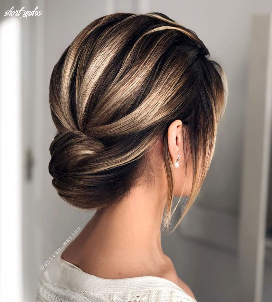 12 updos for short hair to feel inspired & confident in 12