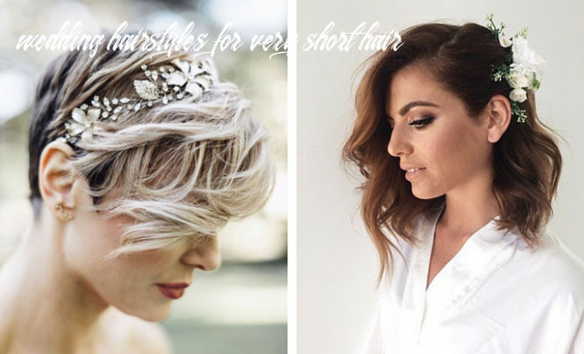 12 wedding hairstyles for short to mid length hair | stayglam wedding hairstyles for very short hair