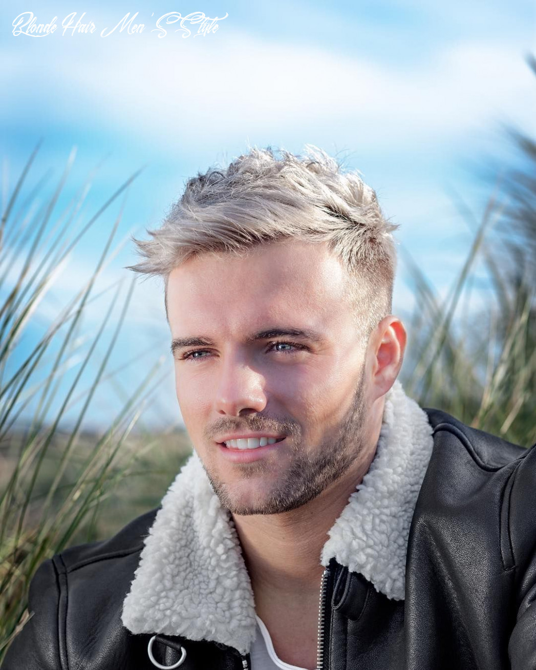 8 aesthetic guys haircuts with blonde hair find your styles